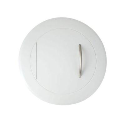 Einwurftüre-Metall-Weiss-RAL-9016